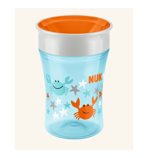 "NUK Magic Cup 360° ustnik ""niekapek"" turkus"
