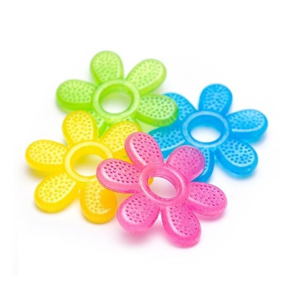 Gryzak żelowy kwiatek BABY ONO 1060 mix kolorów