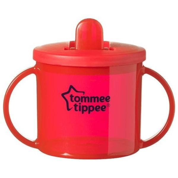 Tommee Tippee pierwszy kubek 4m+ 190ml czerwony