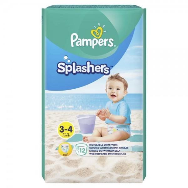 Pieluchy Pampers do pływania Splashers 6-11kg