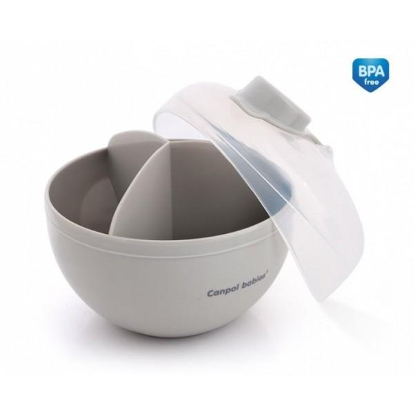 Pojemnik na mleko w proszku Canpol 56/014 szary