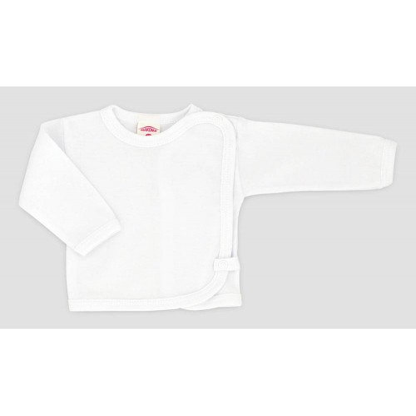 Koszulka niemowlęca MAKOMA klasyczna biel
