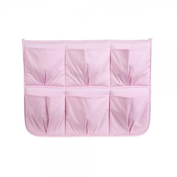 ALBERO MIO przybornik do łóżeczka - różowy