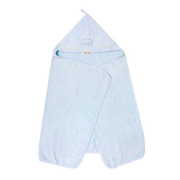 Ręcznik bambusowy 70x140cm Texpol - niebieski