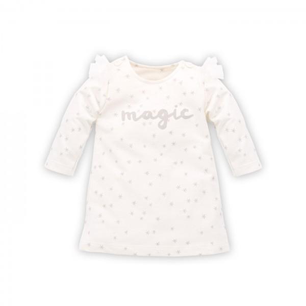 Sukienka PINOKIO Magic ecru star