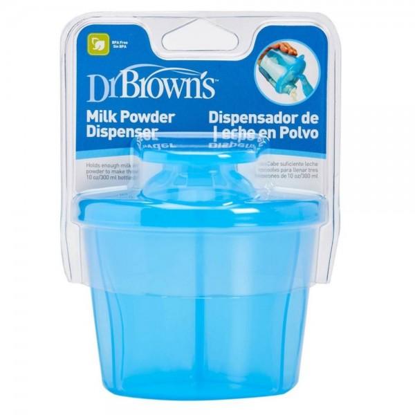 Pojemnik na mleko w proszku Dr Browns - niebieski