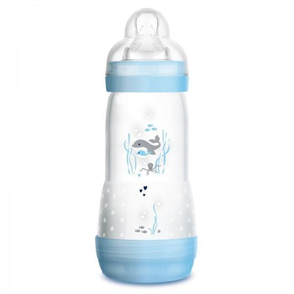 Butelka MAM Anti-Colic 320ml 4m+ niebieska