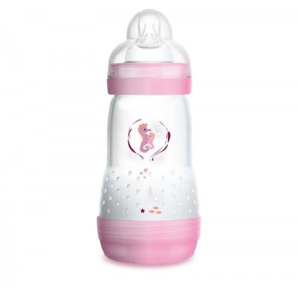 Butelka MAM Anti-Colic 260ml 2m+ różowa