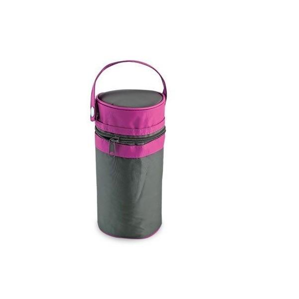 Termoopakowanie do przechowywania butelek LOVI 19/221 różowe