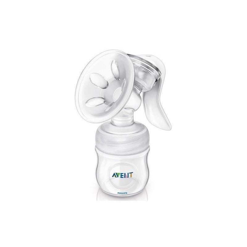Laktator ręczny Avent NATURAL z butelką o poj. 125ml