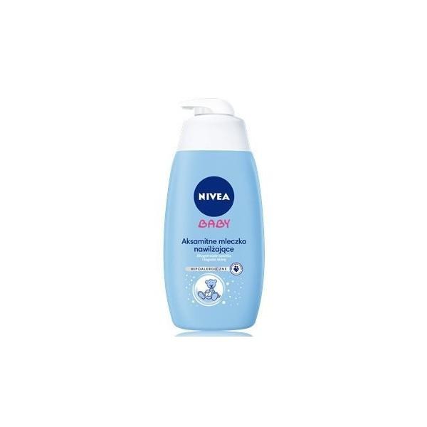 Aksamitne mleczko nawilżające Nivea Baby (500ml)