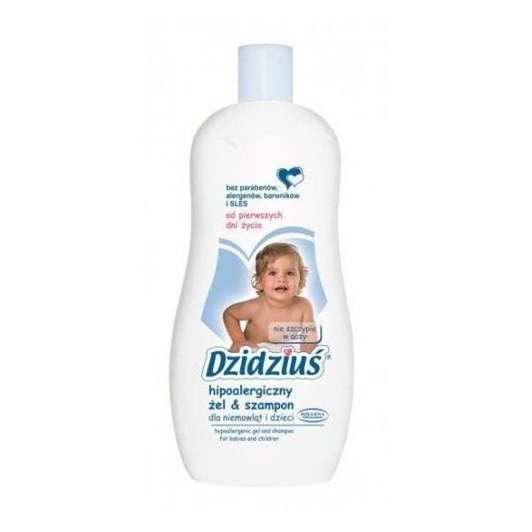 Hipoalergiczny żel & szampon DZIDZIUŚ (500ml)