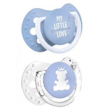 Smoczki LOVI 0-2m My little love 22/847 boy (2szt)