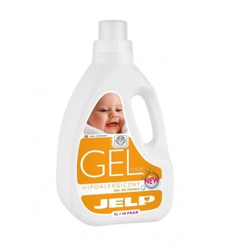 Żel do prania Jelp GEL COLOR hipoalergiczny 1L