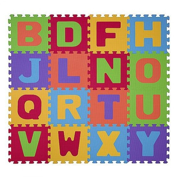 Puzzle piankowe litery 16szt BabyOno 280