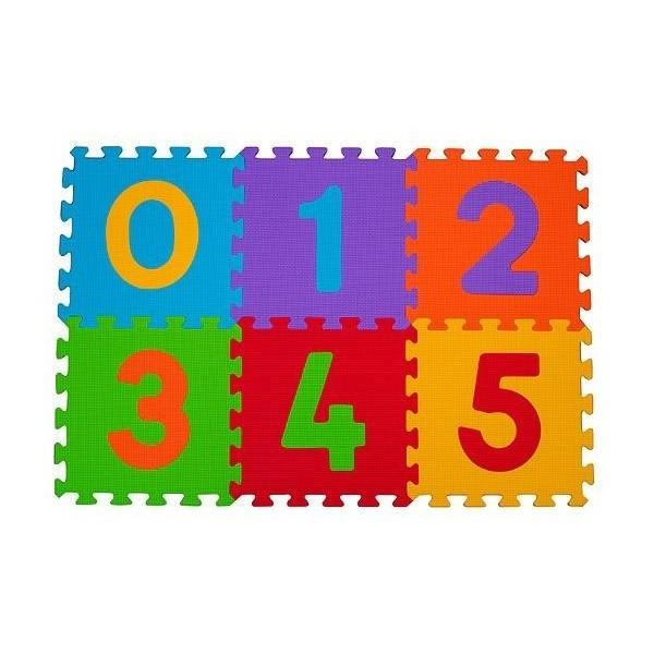 Puzzle piankowe 6szt. CYFRY BABY ONO 275