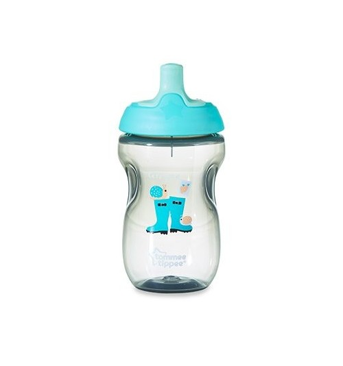 Bidon ze słomką SPORTS Tommee T. 300ml 12m+ boy