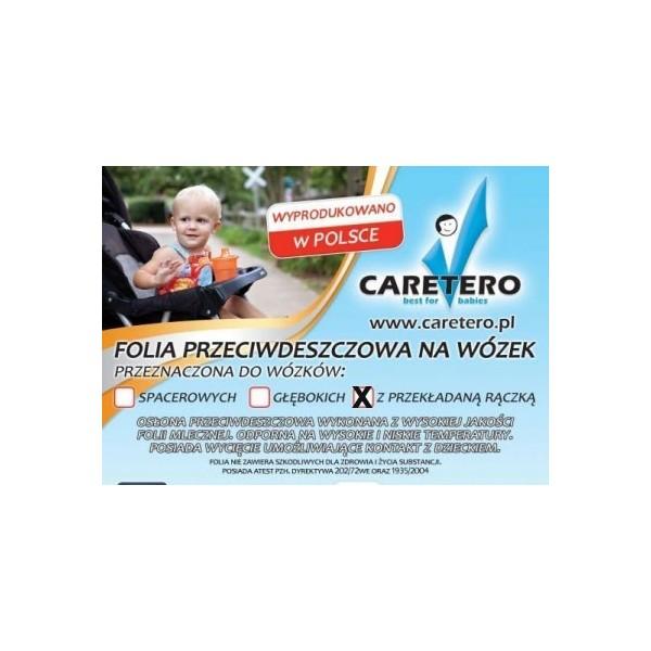 Folia przeciwdeszczowa na wózek z przekł.rączką