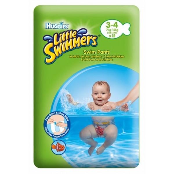 Pieluchy Huggies do pływania 7-15kg (12 sztuk)