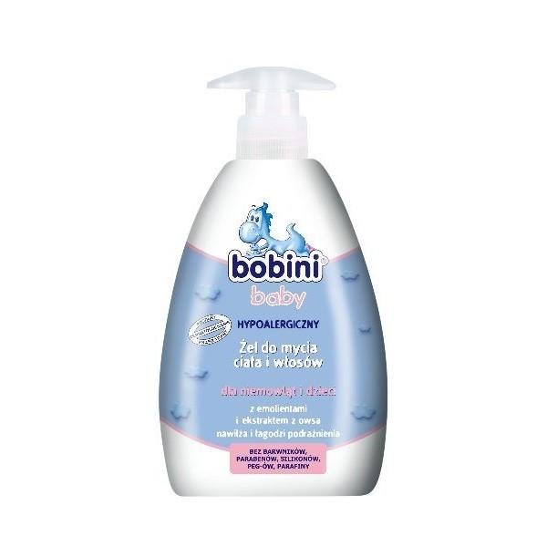 Żel do mycia ciała i włosów Bobini 400ml