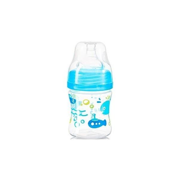 Butelka szeroka 120ml BabyOno 402 niebieska
