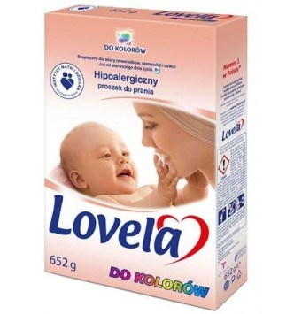 Hipoaler. proszek do prania Lovela 652g do koloru