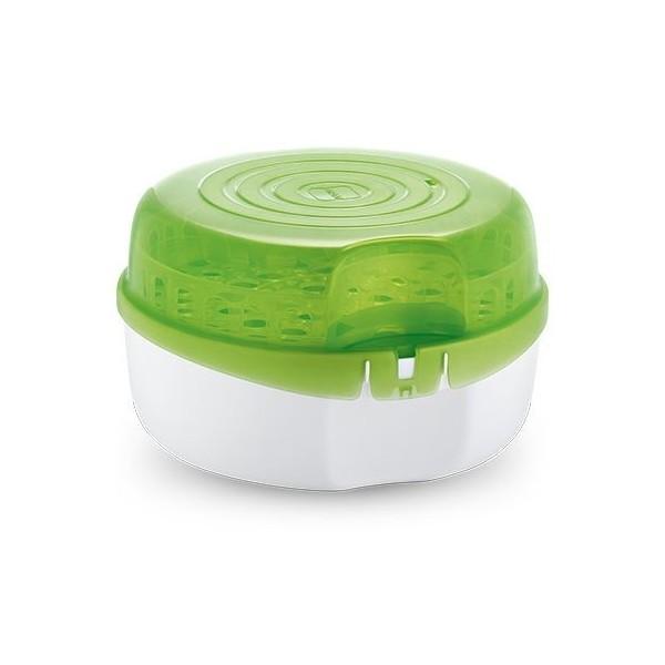 Sterylizator mikrofalowy MAM + butelka (zielony)