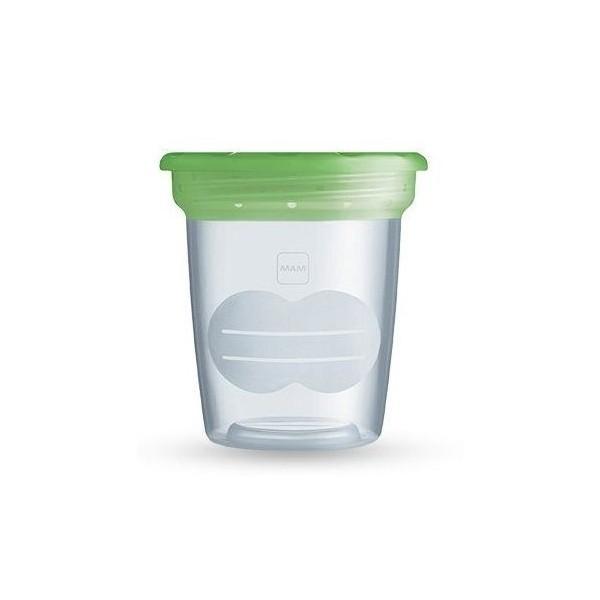 Pojemniki na mleko matki MAM Storage Solution ziel