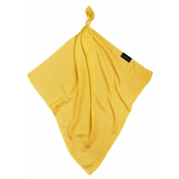 Pieluszka bambusowa 75x75cm Texpol - classic żółty