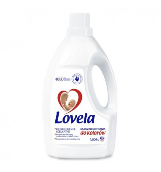 Mleczko do prania Lovela 1,5L - do koloru
