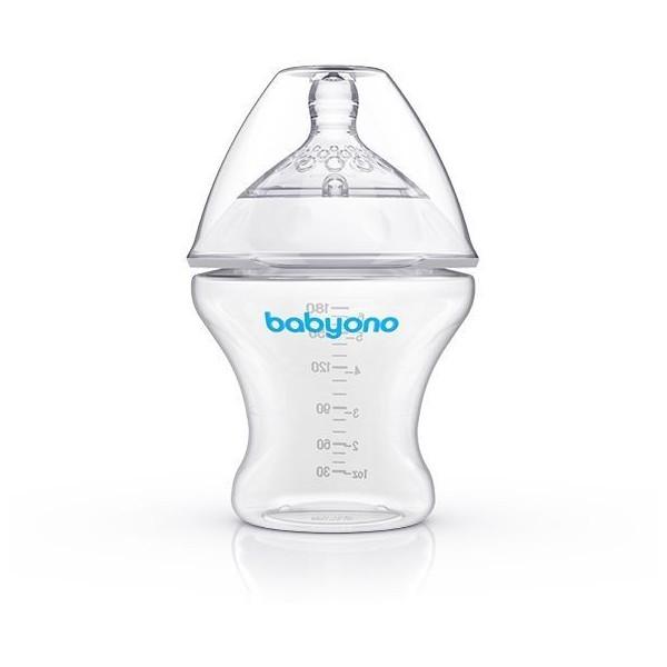 Butelka antykolkowa Babyono 180 ml NATURAL NURSING 1450