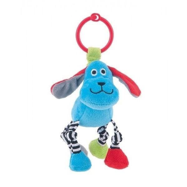 Pluszowa zabawka z grzechotką Canpol 68/051 niebieska