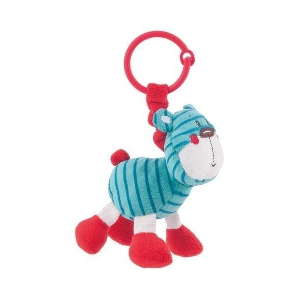 Pluszowa zabawka z grzechotką Canpol 68/050 turkus