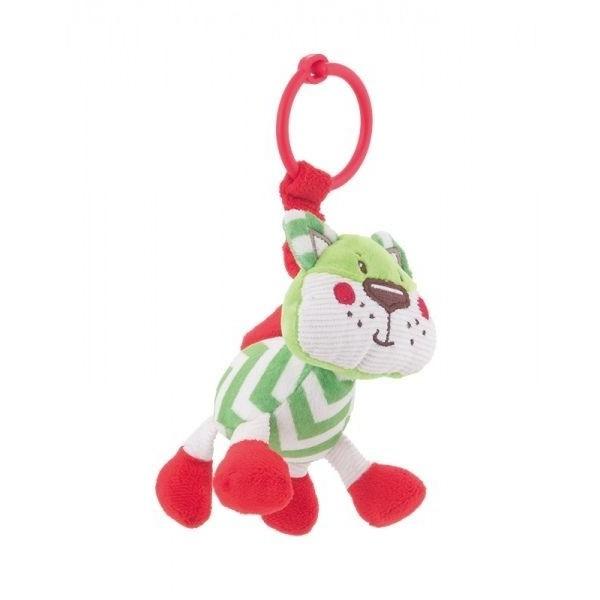 Pluszowa zabawka z grzechotką Canpol 68/050 zielona